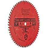 Freud LU91R010 10-Inch 60 Tooth ATB Thin Kerf Miter Saw Blade with 5/8-Inch Arbor and PermaShield Coating