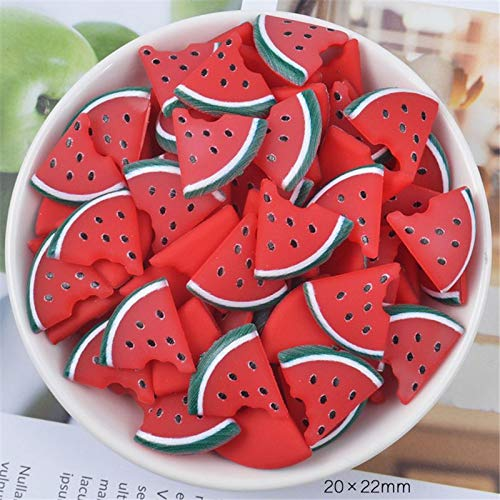 Slime charms 3pcs Fruit Slices Slime Charms Slime Supplies For Slime Clear Slime Accessories Putty Clay Toys Kids 2