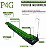 Indoor Golf Set P4G Ball Auto Return Putting Mat Indoor and Outdoor Mini Golf