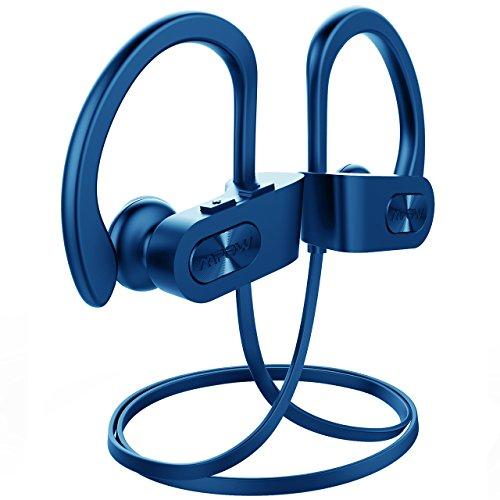 Mpow Bluetooth Headphones Waterproof IPX7, Wireless ...