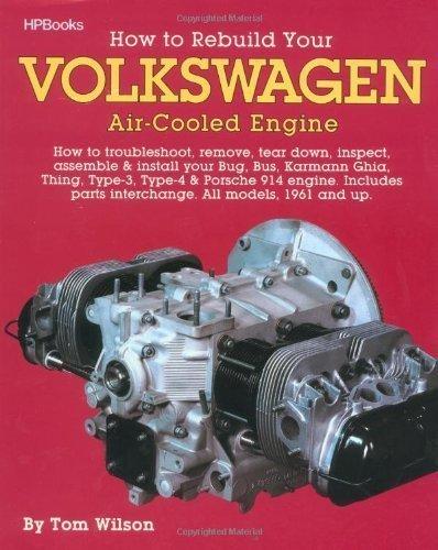 vw engine rebuild book - 2