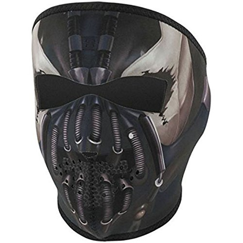 - Zan Headgear Full Neoprene Protective Face Mask Pain Cyber Mech Robot Design