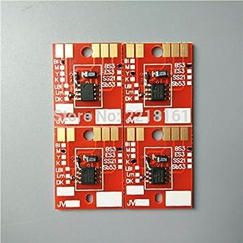 el envío libre de 4 colores Eco plotter solvente chip de Mimaki ...
