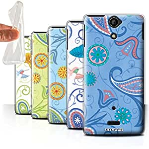 STUFF4 Gel TPU Phone Case / Cover for Sony Xperia V/LT25i / Pack 12pcs / Springtime Collection