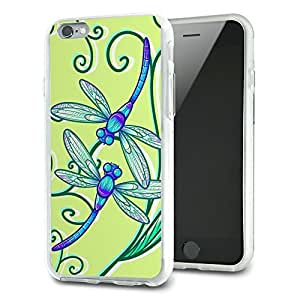 Delicate Dragonfly Slim Fit Hybrid Case Fits Apple iPhone 6 Plus