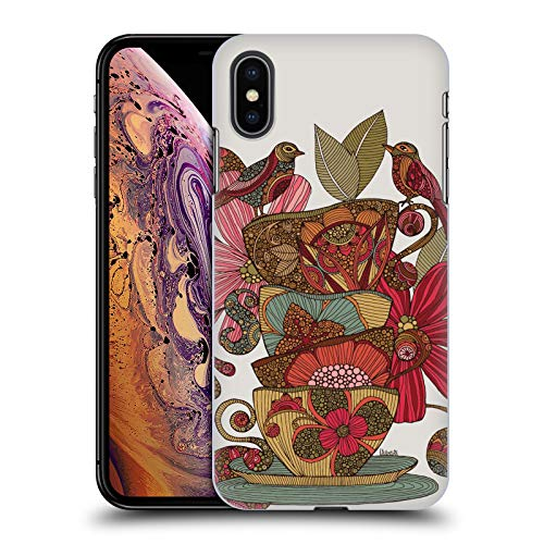(Official Valentina Teacups Birds Hard Back Case Compatible for iPhone Xs Max)