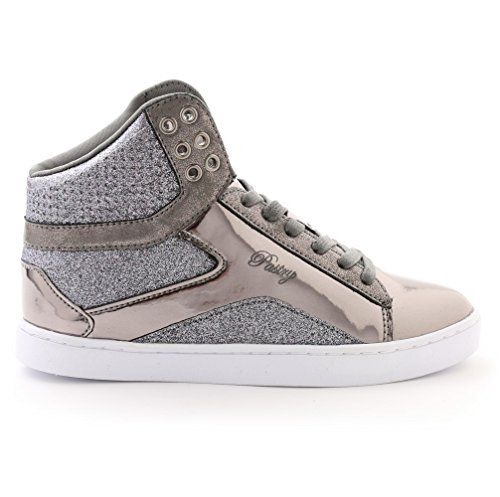 Pop Pastry Glitter Kids for Gunmetal Shoe Dance Top High Sneaker amp; Tart 7q1rqwd