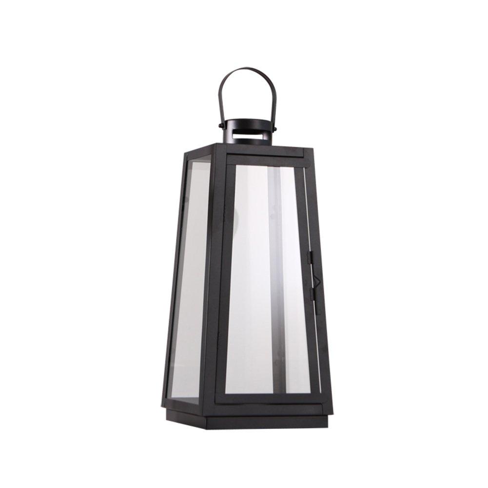 Qing Chen Moderne minimalistische Boden bis zur Decke Lantern eiserne Kerze Ornamente-A