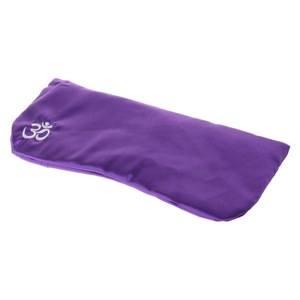 sitonelectic Yoga Eye Pillow - Máscara de Masaje de Seda Cassia Semillas Lavanda Masaje Relajación Aromaterapia, 2