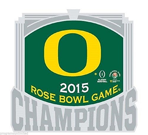 - 2015 ROSE BOWL CHAMPIONSHIP NCAA DUCKS CHAMPIONS GAME COLLECTOR PIN