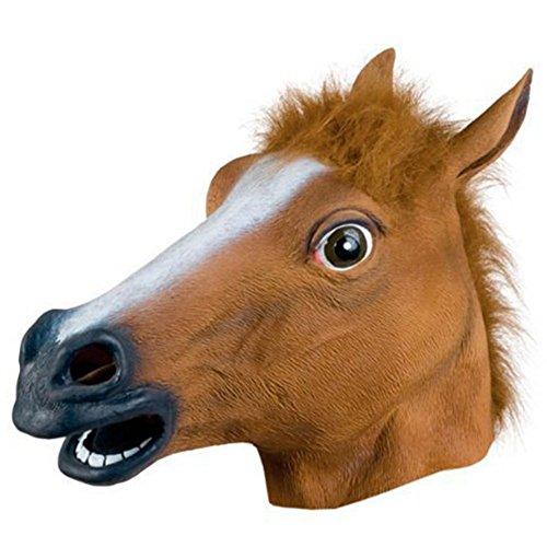 2015 - 2014 Newest Design Halloween Costume Horse Mask Gangnan Style Accessoire