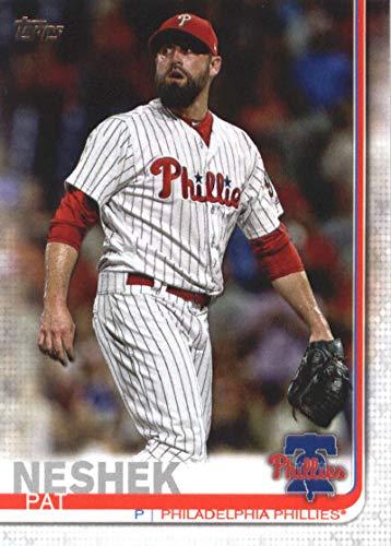(2019 Topps #668 Pat Neshek Philadelphia Phillies Baseball Card)