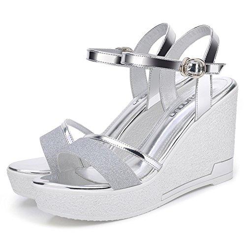 RUGAI-UE Sandalen. Damen Sandalen Sommer Pisten Dick unten Damen Schuhe Sandalen. RUGAI-UE 94277b