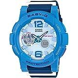 Casio Baby-G Analogue/Digital Female Blue Watch BGA180-2B3