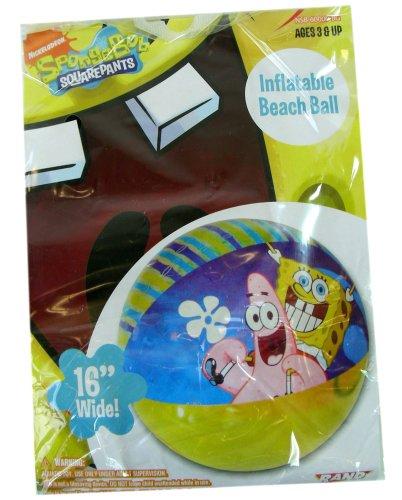 Squarepants Jr Spongebob Nick - Nick Jr. SpongeBob Squarepants Inflatable Beach Ball 16