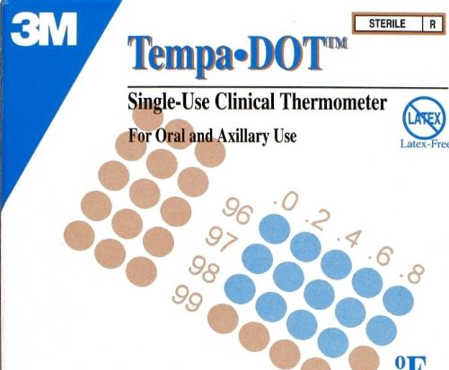 3M Tempa-DOT Single-Use Clinical Thermometer