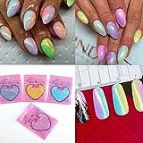 ILOVEDIY Gel Nail Art Powder Dust Mixed Color Glitter Effect Chrome Pigment Additive 10g(White)