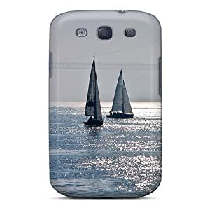 Hard Plastic Galaxy S3 Case Back Cover,hot Hazy Sail Case At Perfect Diy by mcsharks