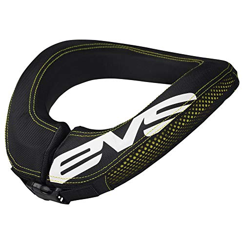 Neck Kart - EVS Sports 112046-0109 R2 Race Collar (Black, Adult)
