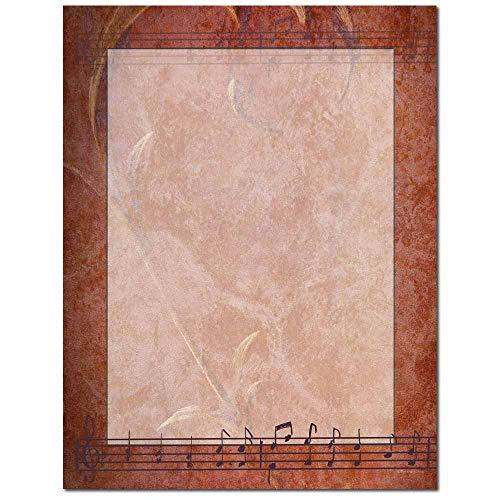 (Chamber Music Letterhead Laser & Inkjet Printer Paper (100)