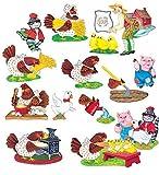Little Folk Visuals Little Red Hen Felt Figures For Flannel Board Precut