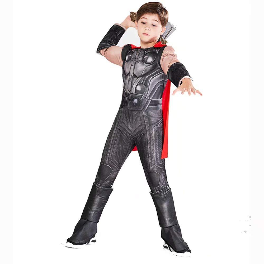 Traje de Thor para niños Adultos, Traje de superhéroe Traje ...