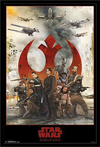 Trends International Wall Poster Star Wars Rogue One Assemble, 22.375 x 34