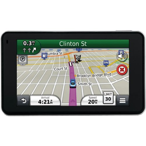 Refurbished 4.5 In. Super Thin GPS with Free Lifetime Map Updates by Garmin