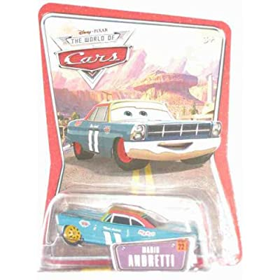 Disney Pixar Cars World of Cars Mario Andretti: Toys & Games