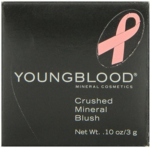 Youngblood Crushed Mineral Blush, Sherbet 3 g by Youngblood