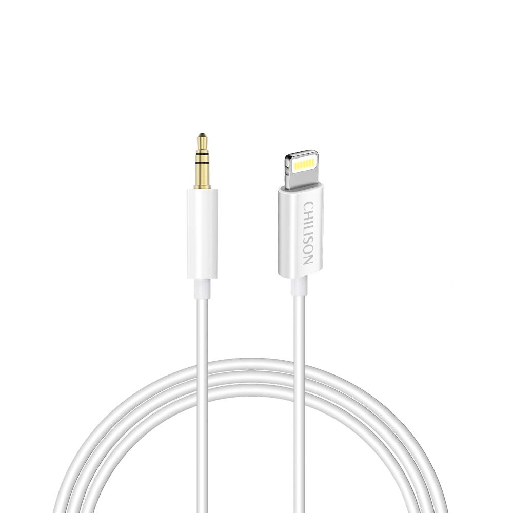 size 40 d0e0f de186 Aux Cable for Car,Chilison Aux Cord Compatible with iPhone  6/7/8/X/Xs/Xr/iPad/iPod 3.3ft 3.5mm Male Audio Adapter for Car Home Stereo  &Headphone ...