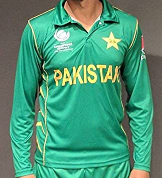 d0693193314 Chishti 2017 Official Pakistan ICC Champions Trophy Cricket Shirt ...