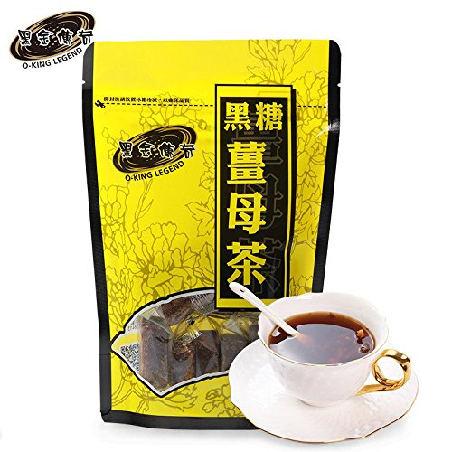 China Good Food warming channel for dispelling cold(黑金传奇黑糖姜母茶455g/袋Black sugar & Ginger Tea)台灣進口