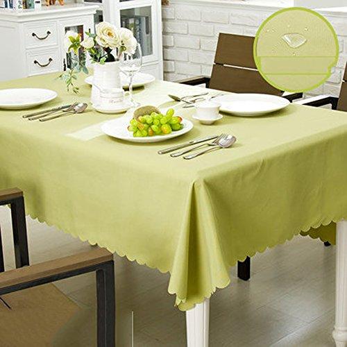 Nappe Imperméable à L'eau Tissu Coton Et Lin Style Nappes Minimaliste Moderne épaississeHommest Nappes à La Maison Nappes à Manger, 6,130180Cm