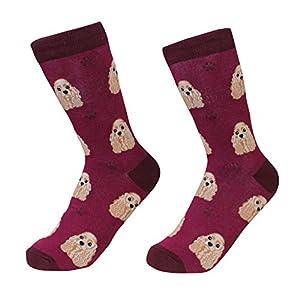 Cocker Spaniel Dog Breed Socks Unisex Sock Daddy by E&S Pets 12