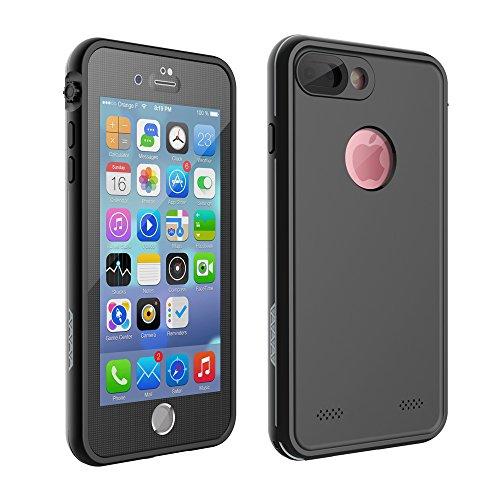 iPhone 7/8 Waterproof Case, Charlemain Underwater Full Sealed Cover Shockproof Snowproof Dustproof Dirtproof IP68 Certified Waterproof Case for iPhone 7 iPhone 8 4.7inch