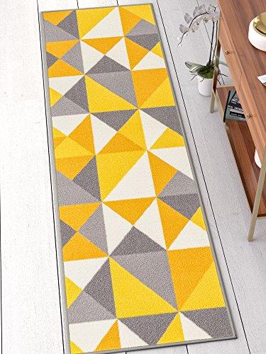 Well Woven 6661-2L Vector Kings Court Modern Geometric x Runner Indoor/Outdoor Area Rug, 2'7
