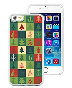 Hot Sell iPhone 6 Case,Christmas Tree White iPhone 6 4.7 Inch TPU Case 10