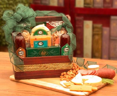 Gourmet Food Basket for Manliest of - Manliest