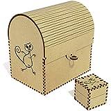 Azeeda 'Dancing Cat' Treasure Chest / Jewellery Box (TC00000953)