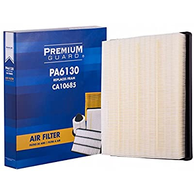 Premium Guard Air Filter PA6130 | Fits 2010 Buick Allure, 2010-16 LaCrosse, 2011-17 Regal, 2014 Chevrolet Impala, 2013-14 Malibu, 2010-11 Saab 9-5: Automotive