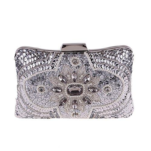 Argent Silver FUBULE Femme pour Pochette Silver qUntZAw