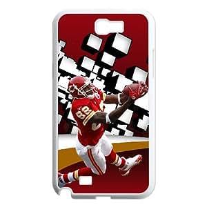 Kansas City Chiefs Samsung Galaxy N2 7100 Cell Phone Case White DIY gift zhm004_8687579