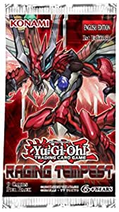 Yu-Gi-Oh 1x Raging Tempest Booster Pack 1st Ed