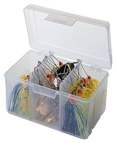 Flambeau Tackle Spinnerbait Utility Box (Clear 6.5x4.625x4