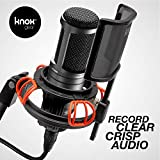 Knox Microphone Shock Mount and Detachable Pop