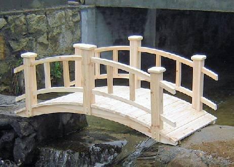 - Master Garden Products Winchester Cedar Wood Bridge, 28