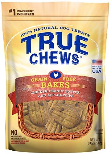 True Chews Premium Bakes - Chicken, Peanut Butter, & Apple 8 oz from True Chews