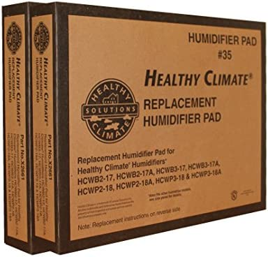 Lennox Healthy Climate Humidifier Pad 35 Part No. X2661 Case of 2