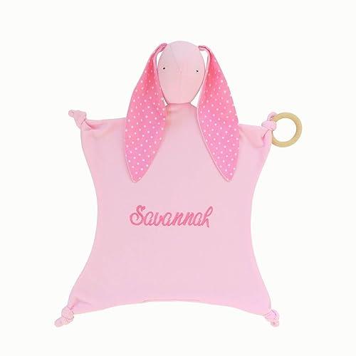 NEW Handmade Baby Girl Security Blanket Great for Baby Shower Gift